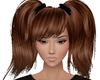 Kiki Brown Ponytails