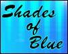 Shades of Blue backdrop