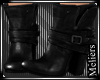 Leather Black Boots