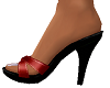 TF* Red Sandals