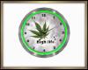 High Times Wall Clock