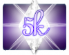 *J 5k Support Sticker