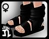 (n)Ninja Sandals 6 Black