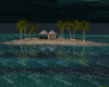 Remote Night Island