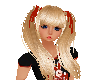 Farideh blonde red bow