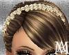 *Pearls&Gold Headband
