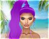 Kenzie Purple Ponytail!