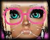 [BP] Pink Nerd Glasses
