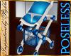 I~Blue Stroller*NP