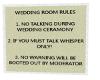 {CB} Wedding Rules