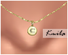 |K Tiny Necklace C