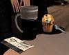 ( c ) coffe & mufin