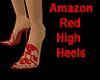 ~jr~AmazonRed High Heels