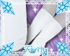 {R} Pony Socks White