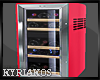 Small Pink Refrigerator