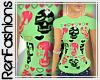 $R Neon Skulls& x3`s Tee