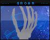 Gray Hand Pedestal