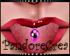 Piercing Purple Tongue