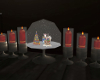 Snow Globe and Candles