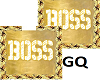 Plated Gold Name BOSS