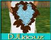 DJL-Cust Bridal ChocBlue