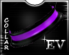 EV Purple RubbeR Collar