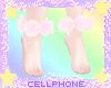 pink rose anklets ❤