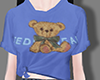 Blue bear blouse