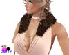 add on fur chain collar