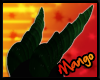 -DM- Fern Dragon Horns