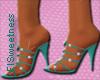 FLS Beaded Sandals - Tea