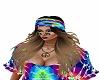 woodstock hippie brown