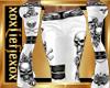 [L] Skull White Flare F