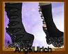 ~*Glitter Boots Black*~