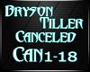 Bryson Canceled