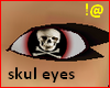 !@ Skull eyes female