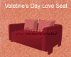 Valentines Day Love Seat