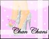 [Chan] White Pink Pumps