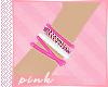Pink Bracelets R | F