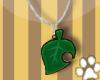 AC Leaf Necklace