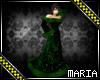 Blk & green Long  dress