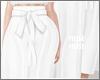 n  Paperbag White Pants