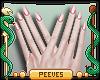 P; Nails Pink