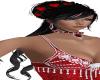 Kerri/ Black./ red heart
