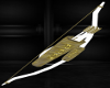 Ivory Gold Bow & Arrows