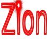 Neon Sign *ZION*