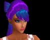 [MPF]Bow Hair: Blue/Purp