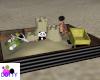 panda sand box