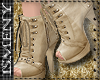 [Is] Leather Creme Boots