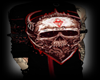 Bloody Skull Goth Sleeve